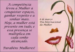 2f790d30e8b6f Poder Feminino Dia Internacional da Mulher - Sympla