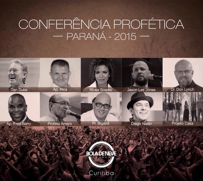 Conferência Profética Bola de Neve Paraná 2015 - Sympla eba3cfb249853