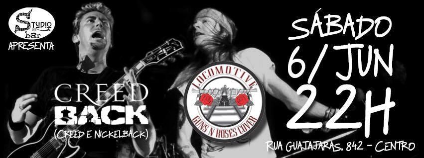 STUDIO BAR APRESENTA: Locomotive (Guns n' Roses cover) e