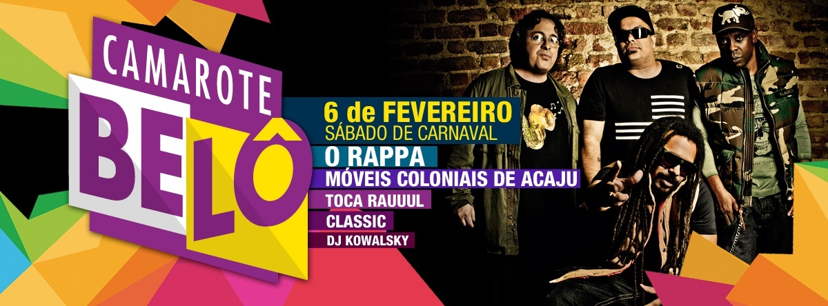 O RAPPA ☆ Sábado de Carnaval (06 02) ☆ CAMAROTE BELÔ - Sympla d36532867f