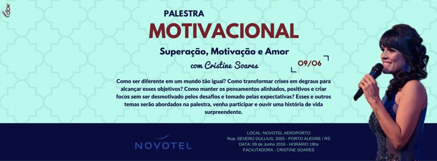 Palestra Superação Motivação E Amor Sympla