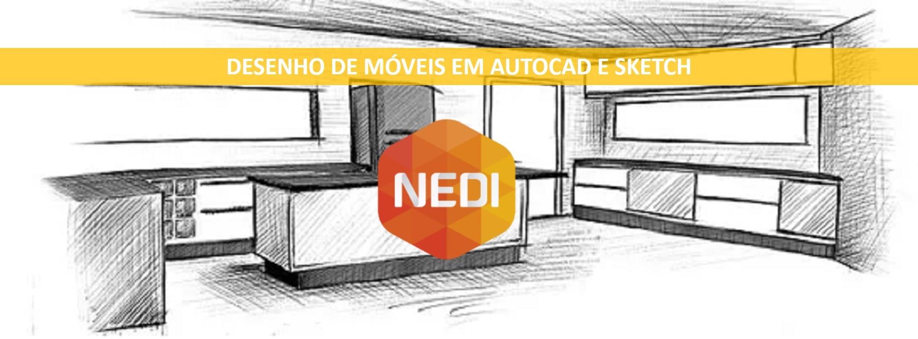 Desenho do Móvel Planejado no Autocad 2D e Sketchup - Sympla