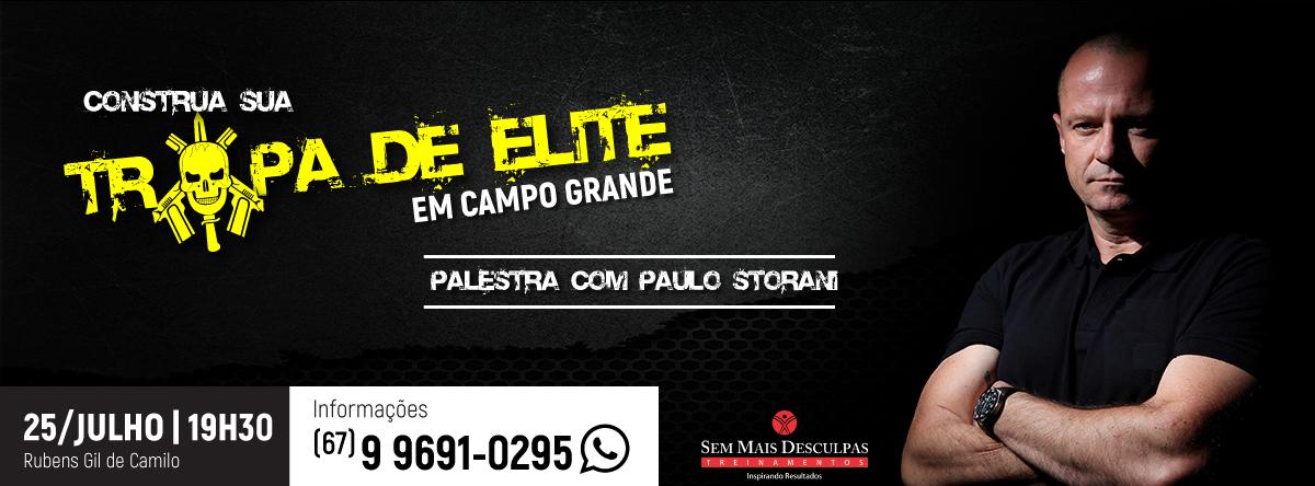 Construa Sua Tropa De Elite Campo Grande Sympla