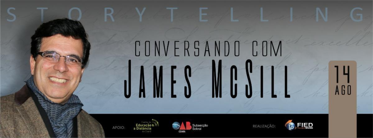 CONVERSANDO COM JAMES MCSILL - Sympla