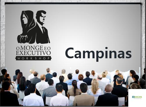 Workshop Campinas O Monge E O Executivo Sympla