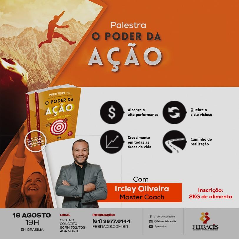 O Poder da Ação - Best Seller do autor Paulo Vieira - Sympla 232686d1ce