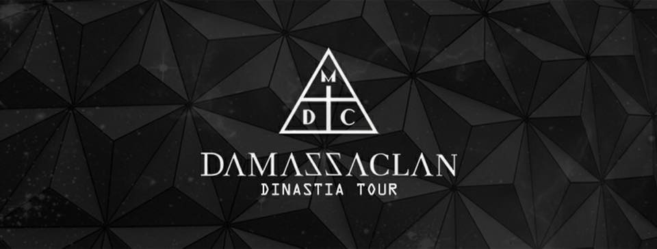 Damassaclan Dinastia Tour - por Agência Fabrik - Sympla 830c3eea53d