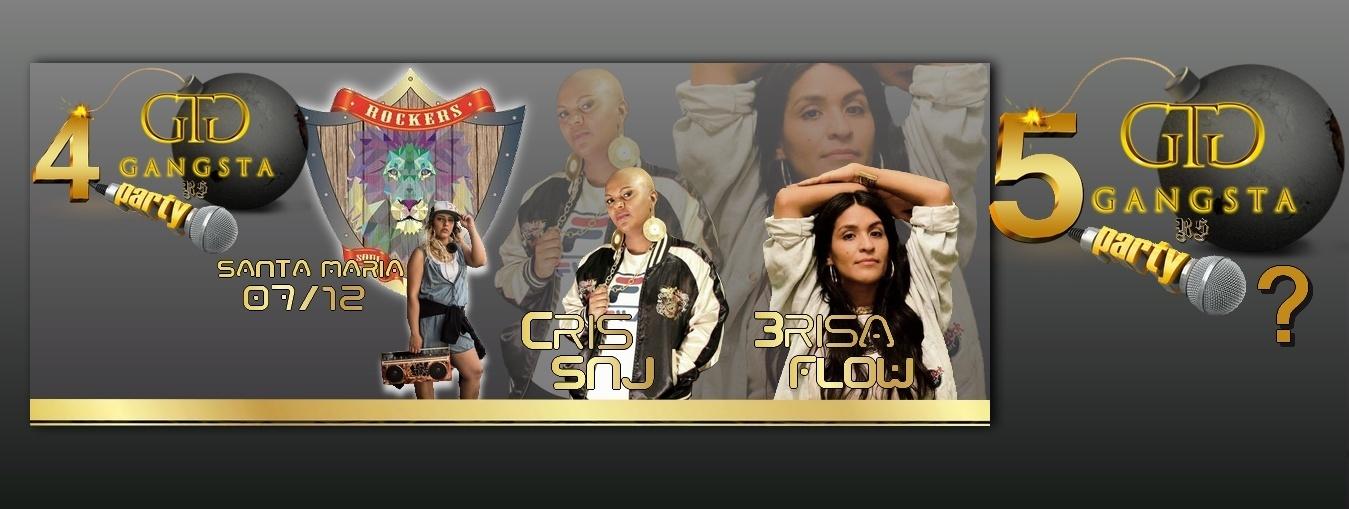 Gangsta Party SM - CRIS SNJ E BRISA FLOW - Sympla
