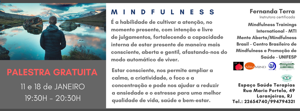 Mindfulness Palestra Gratuita Sympla