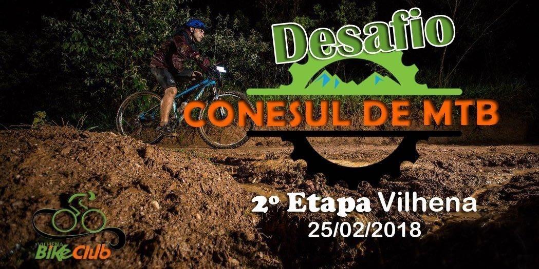 DESAFIO CONE SUL DE MTB - 2ª ETAPA - VILHENA - Sympla 7918331db2