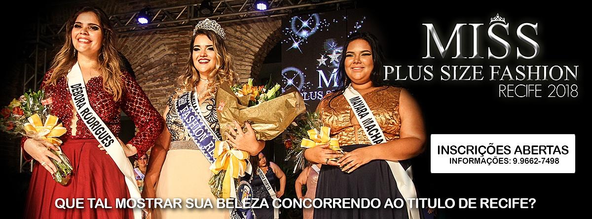 4540c71d0 Miss Plus Size Fashion Recife 2018 - Sympla
