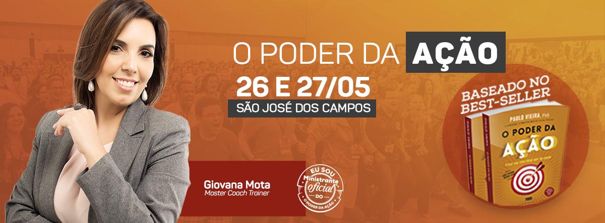 Curso  O Poder da Ação - São José dos Campos, SP - Sympla fd1a9e211c