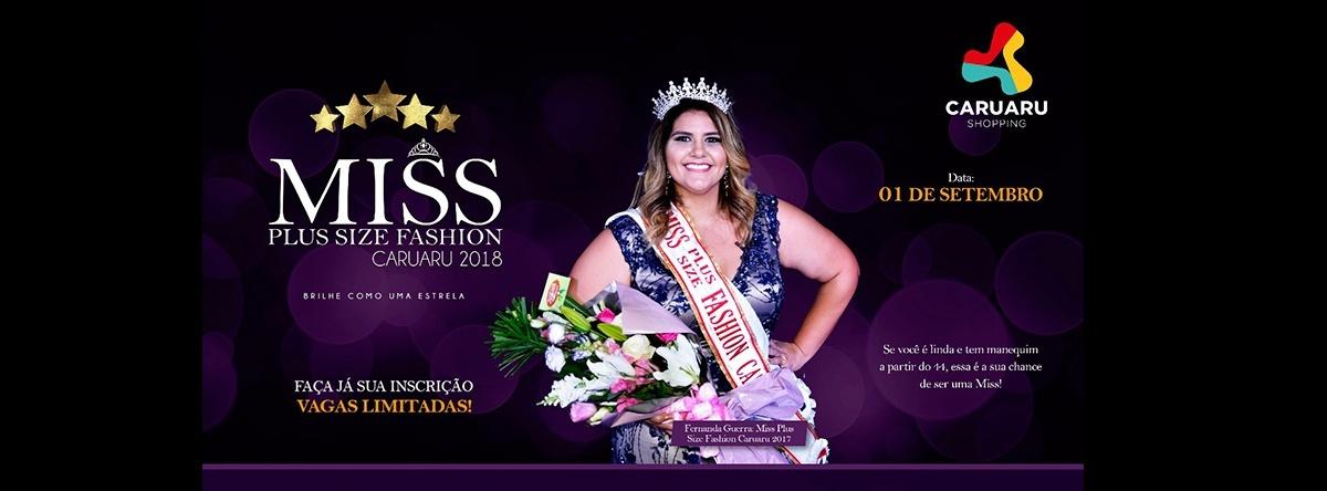 a513d3de6 Miss Plus Size Fashion Caruaru 2018 - Sympla