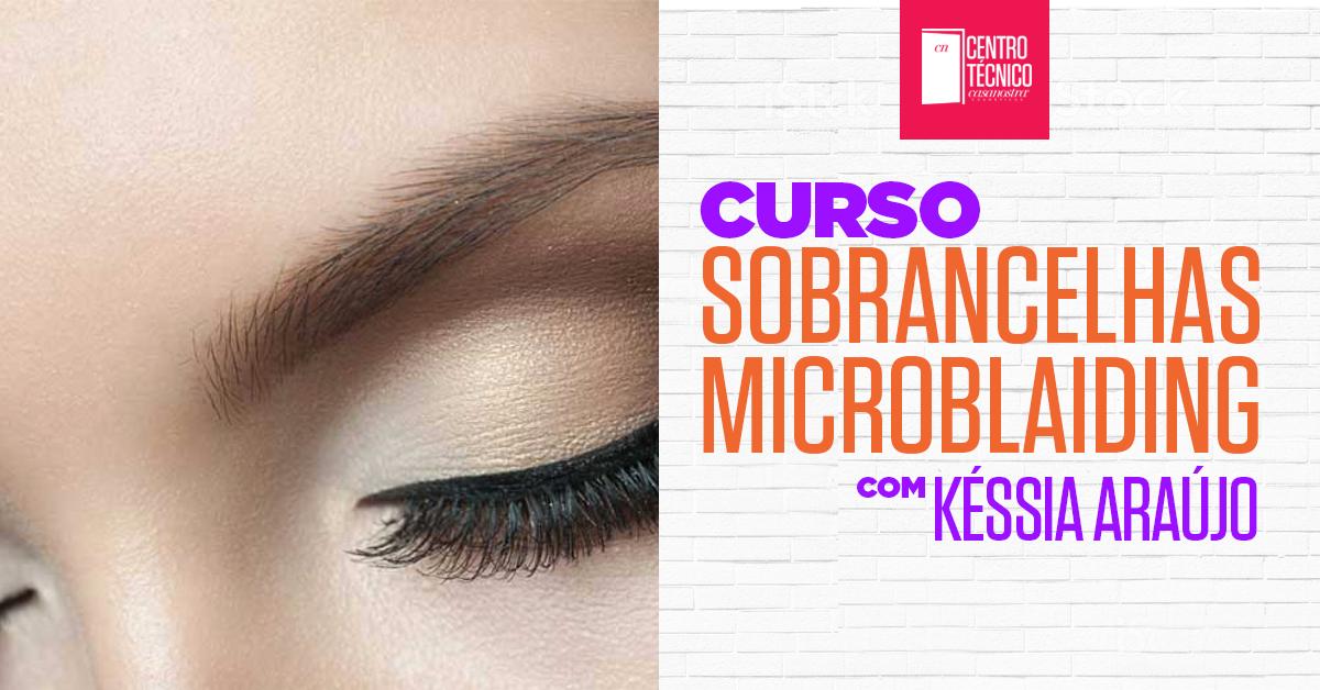 Curso Sobrancelhas Microblading Tebori Hd Fio A Fio 3d