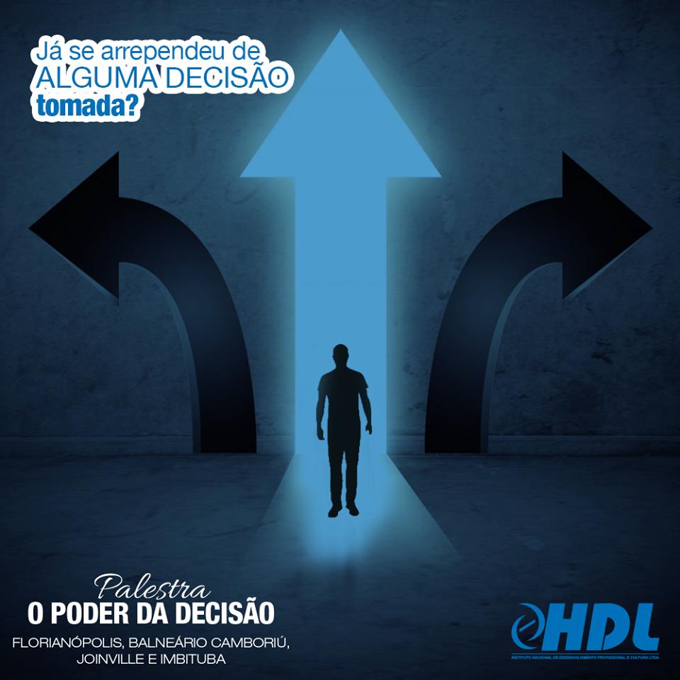 Palestra De Coaching O Poder Da Decisão Florianópolis