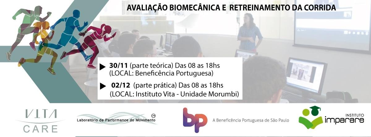0d07a32b8fa AVALIAÇÃO BIOMECÂNICA E RETREINAMENTO DA CORRIDA 31 de Novembro e 02 de  Dezembro - Sympla
