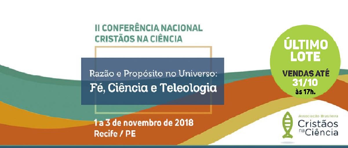 c79172ddb485 II Conferência Nacional Cristãos na Ciência - CN2 - Sympla