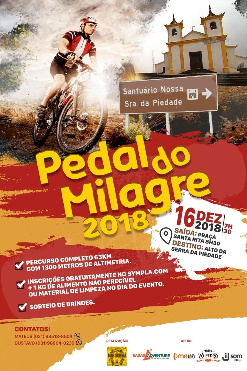 Pedal Milagre 2018 - Sympla 314a538985