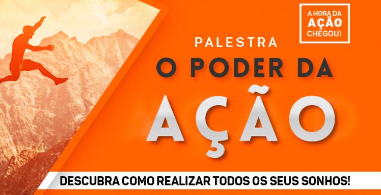 PALESTRA O PODER DA AÇÃO - Sympla b7191481c8