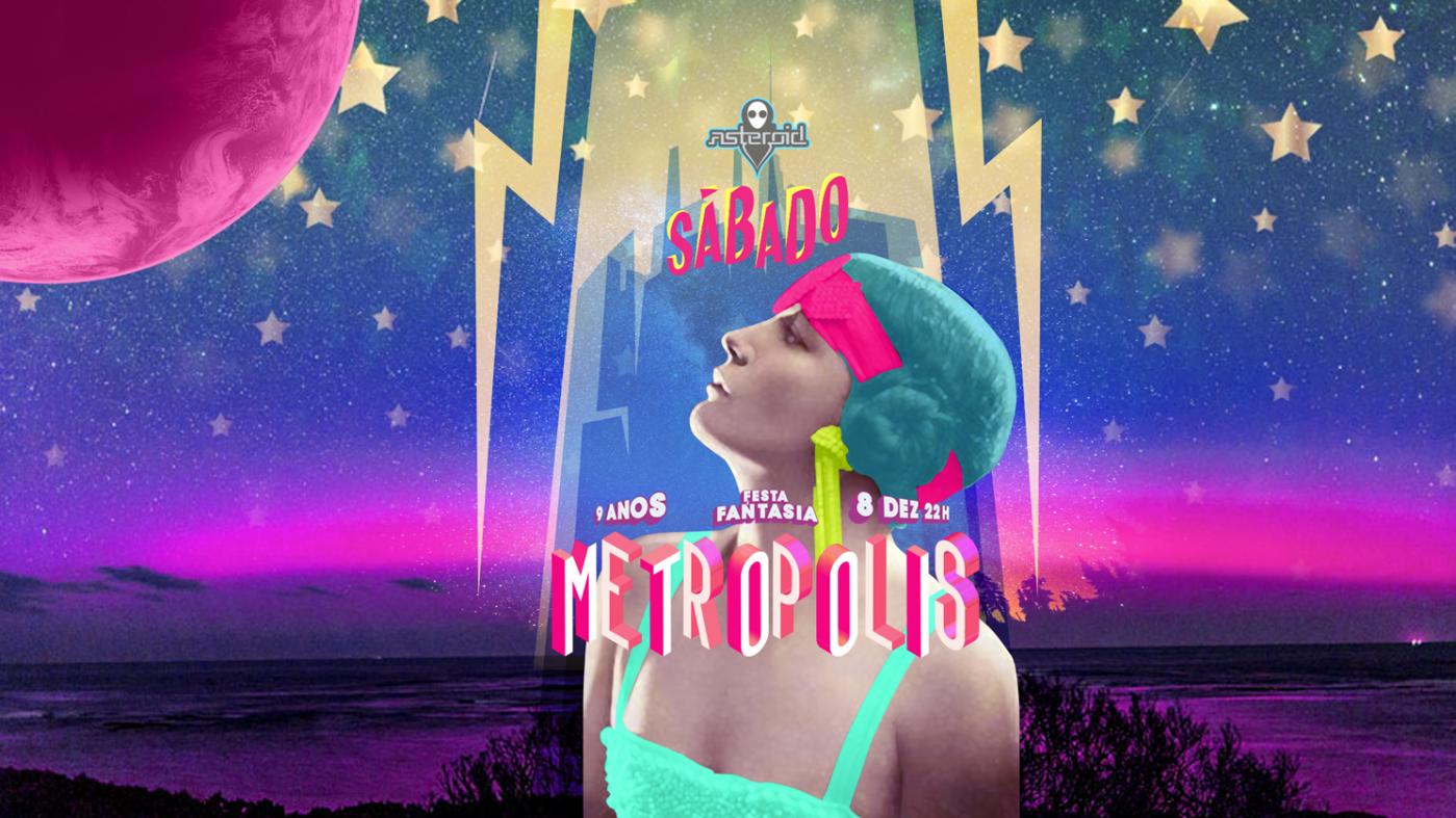 Metropolis Festa A Fantasia Aniversario De 9 Anos Sympla
