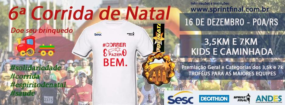 0bf43b455 6ª CORRIDA DE NATAL - Sympla
