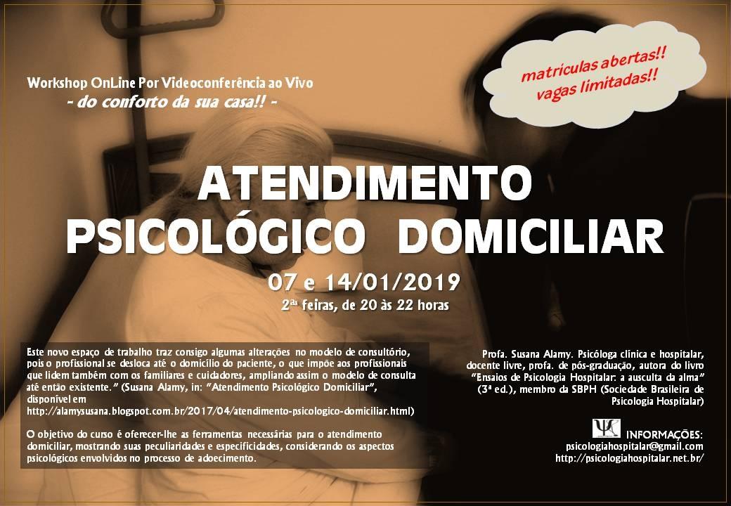 Workshop Atendimento Psicologico Domiciliar Sympla