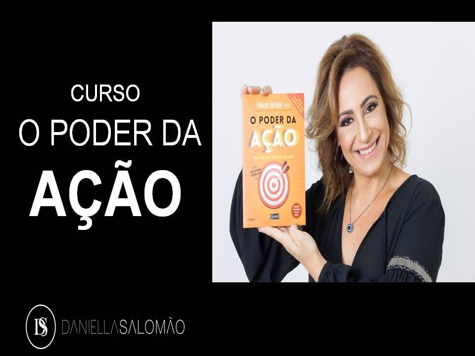 CURSO O PODER DA AÇÃO com Daniella Salomão - Sympla 87c333306c