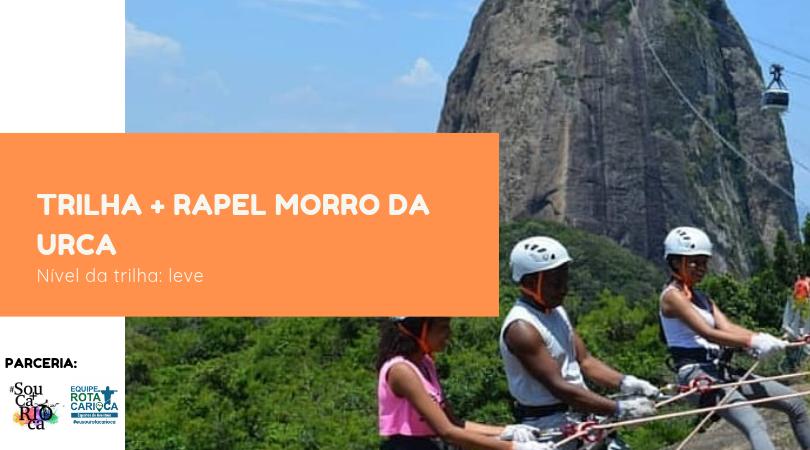 Rapel + Trilha - Morro da Urca