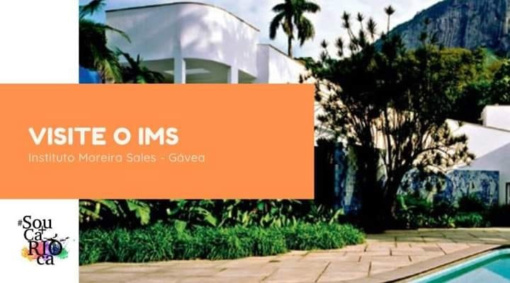 Visite o IMS - Instituto Moreira Salles