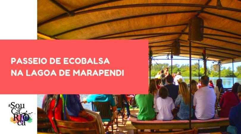 Passeio Ecológico na Lagoa de Marapendi (Ecobalsa)