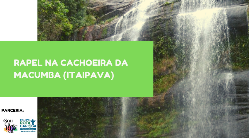 Rapel Cachoeira da Macumba (Itaipava)