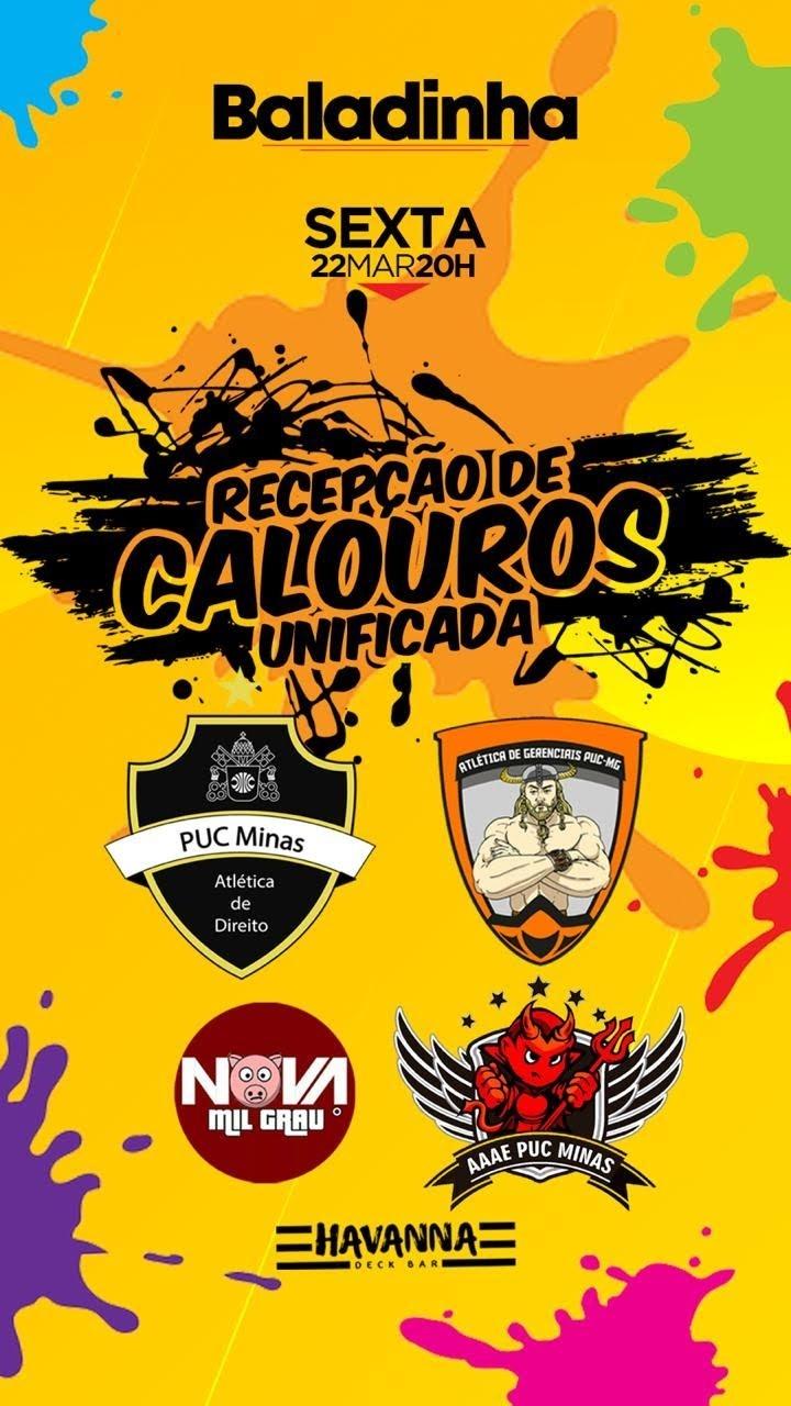 RECEPÇÃO DE CALOUROS UNIFICADA - Sympla