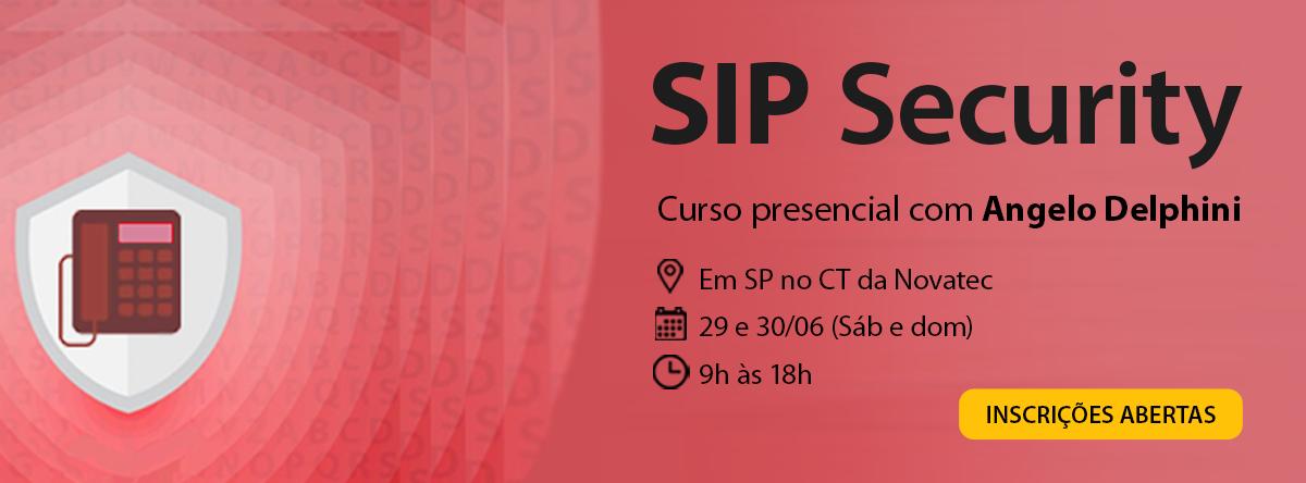 Curso SIP Security 4ª Turma - Sympla