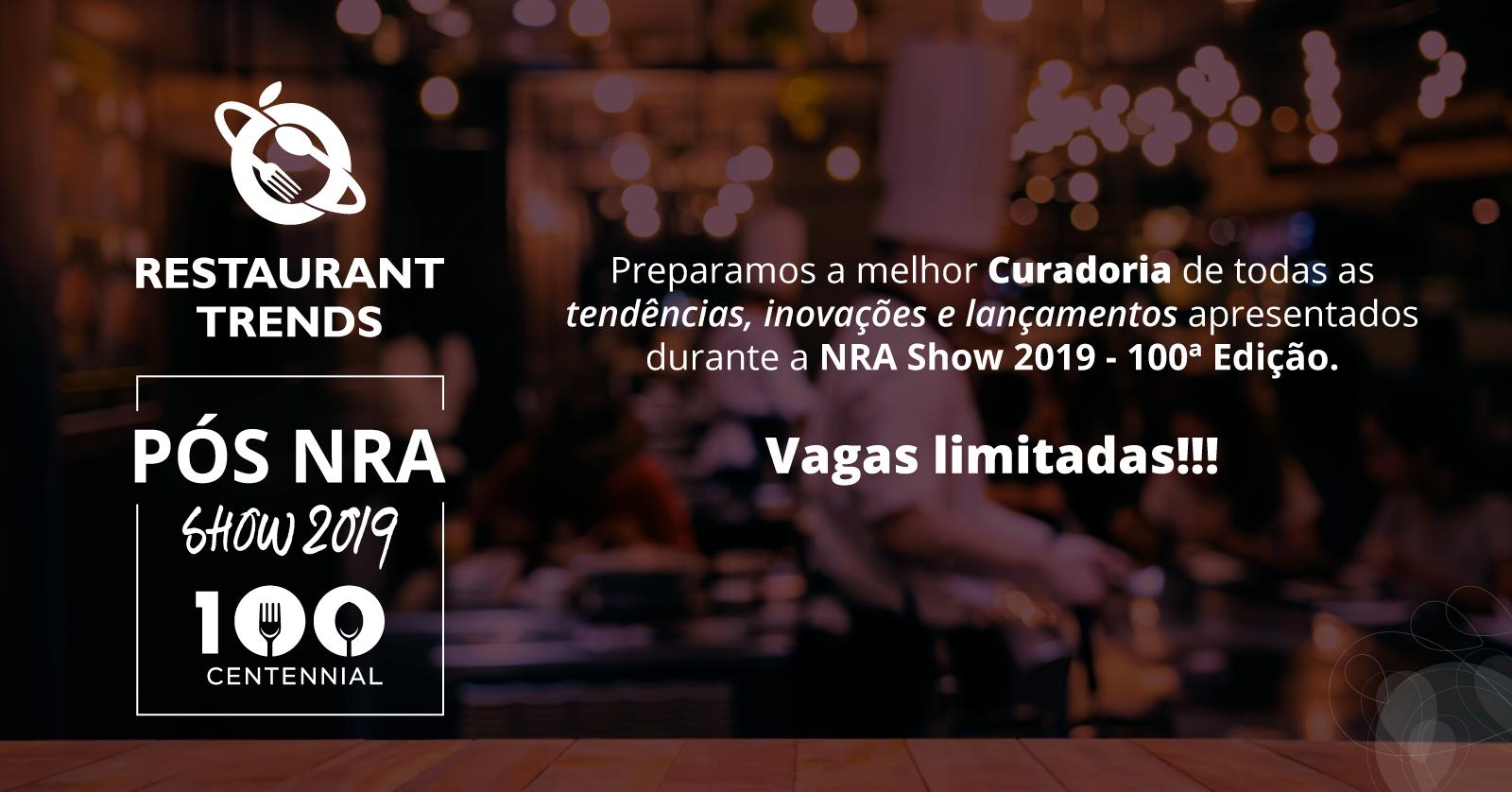 Pós NRA Show 2019 - Restaurant Trends - Sympla