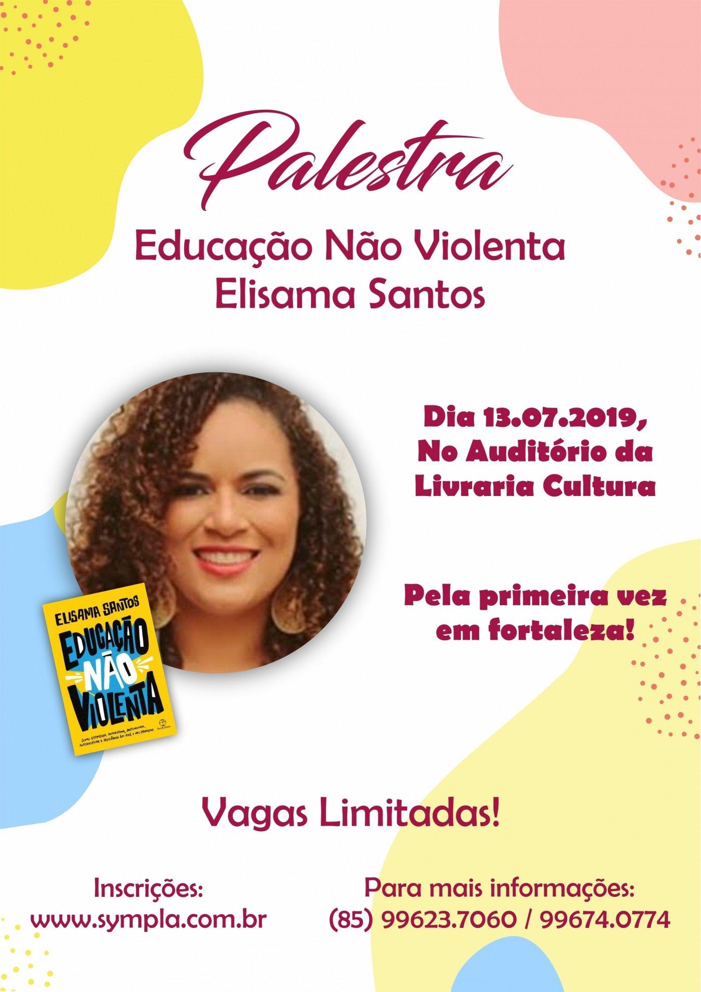 Safeticket Palestra Educação Não Violenta Com Elisama Santos