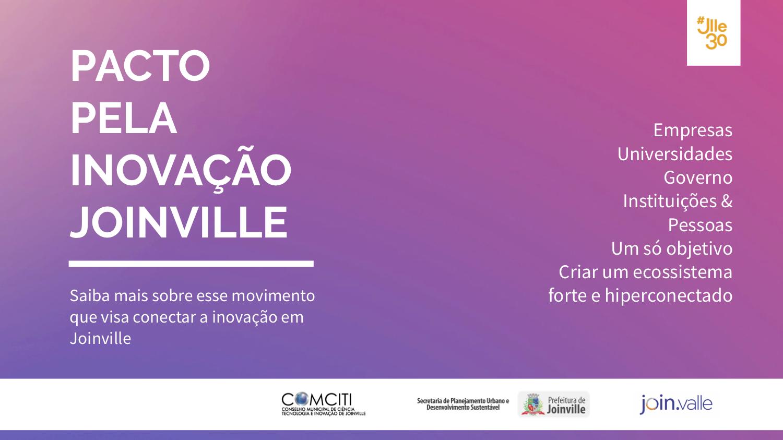Resultado de imagem para Pacto pela Inovação Joinville | 2º Workshop de Planejamento