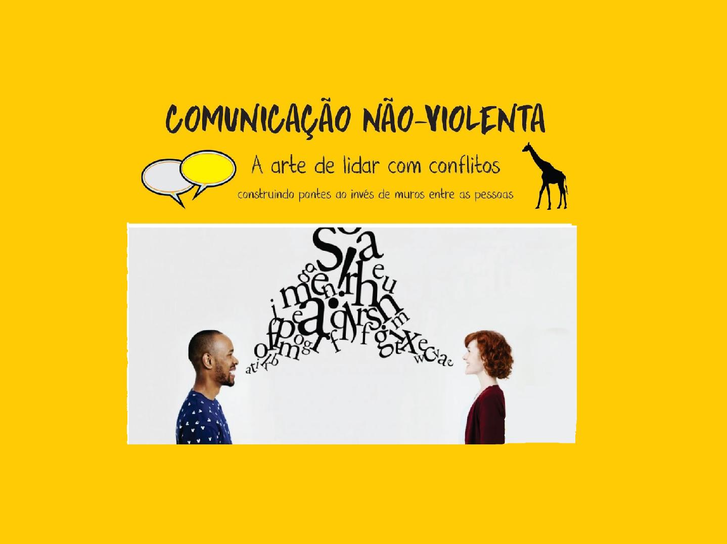 Resultado de imagem para comunicação não violenta