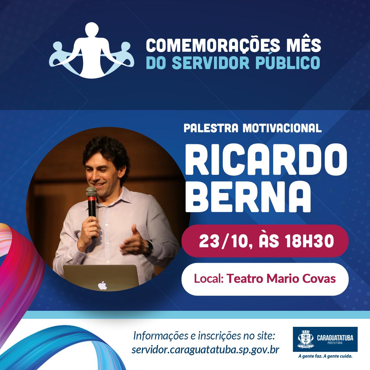 Palestra Motivacional Ricardo Berna Sympla