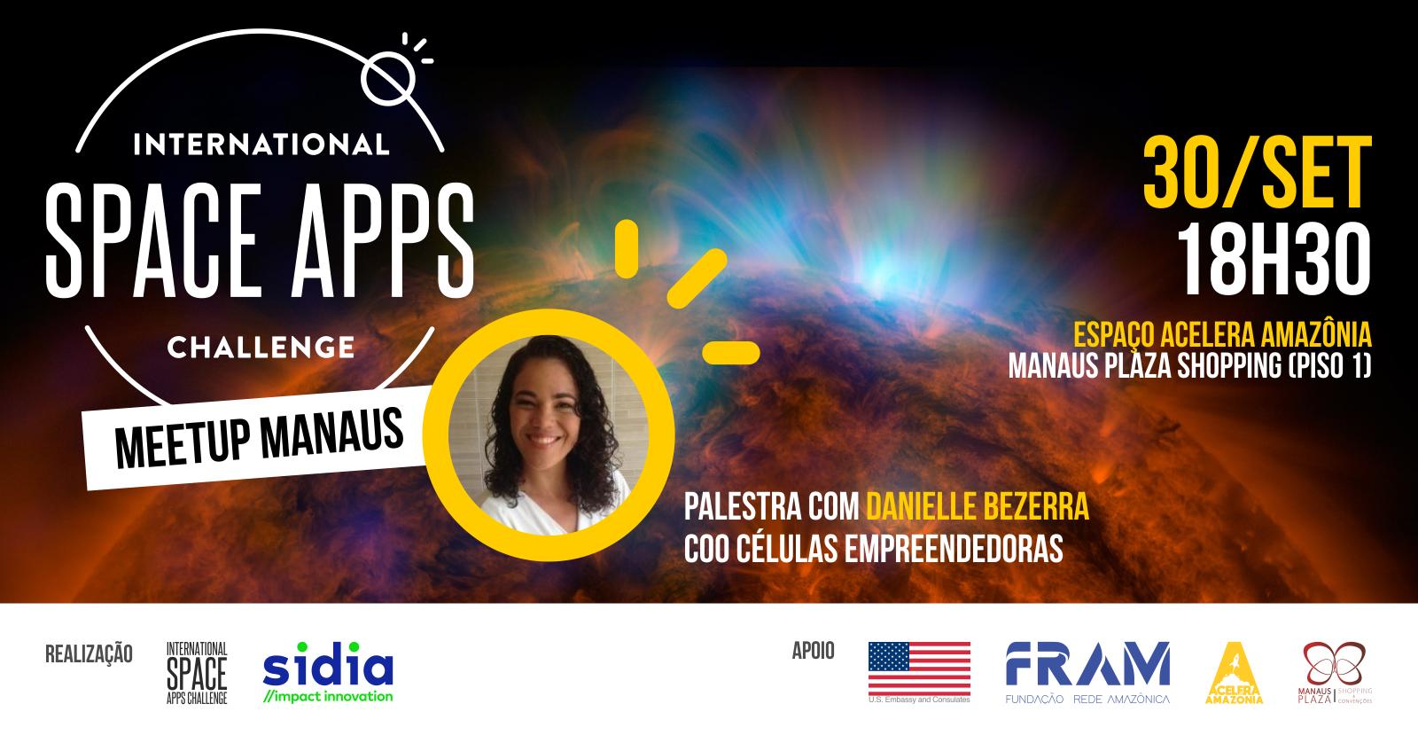 Meetup Nasa Space Apps Manaus Sympla