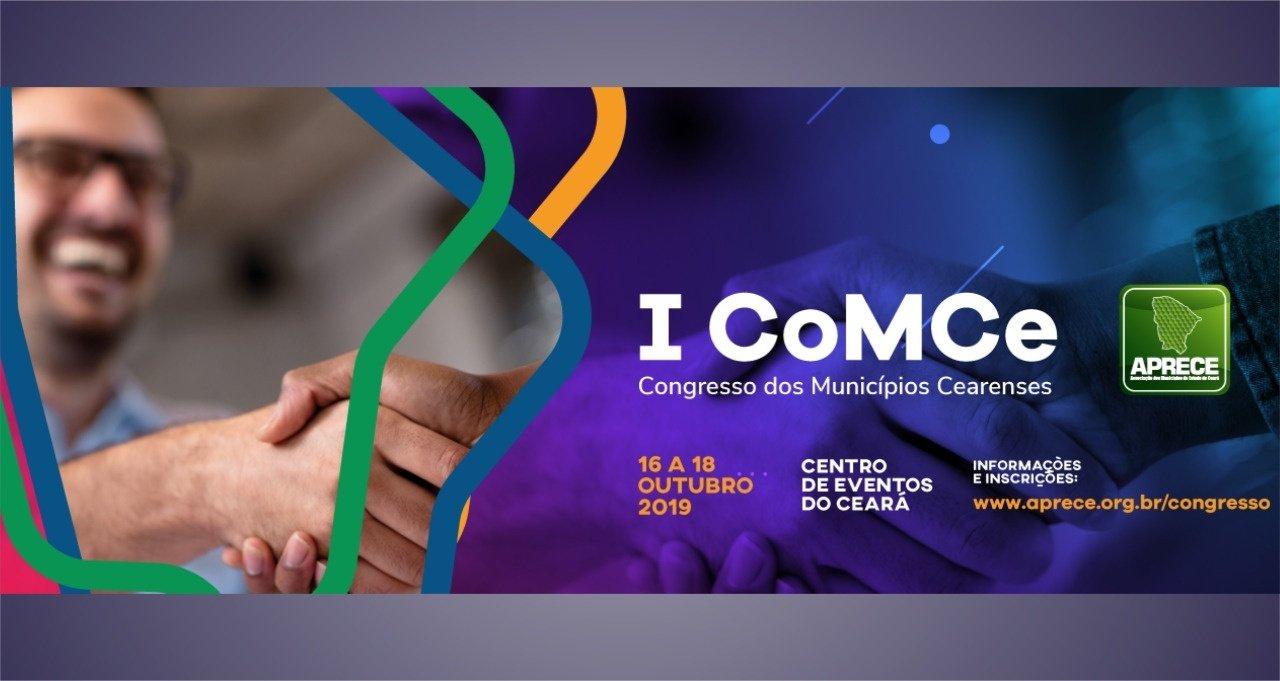 Resultado de imagem para Aprece realiza I Congresso dos Municípios Cearenses