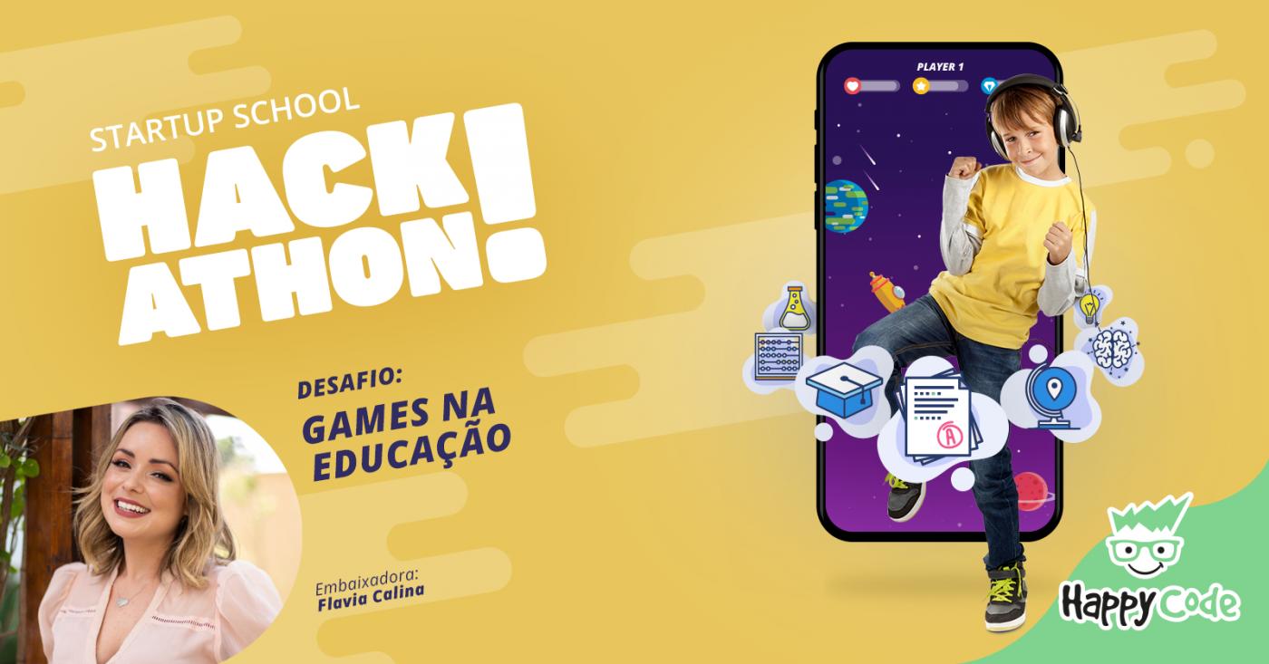 Resultado de imagem para Hackathon Games na Educação - Happy Code Florianópolis