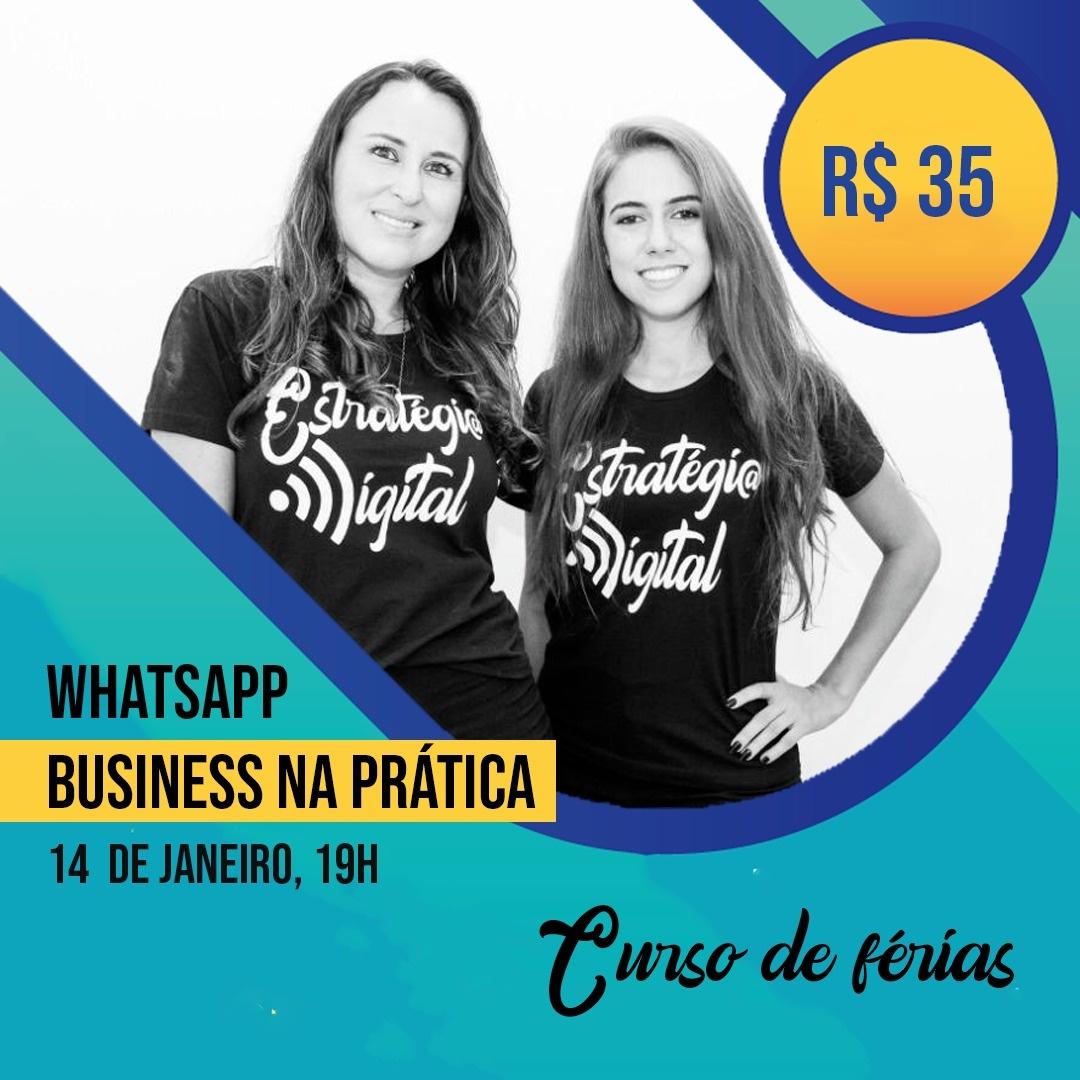 Mini curso de Férias - Whatsapp Business na prática 1