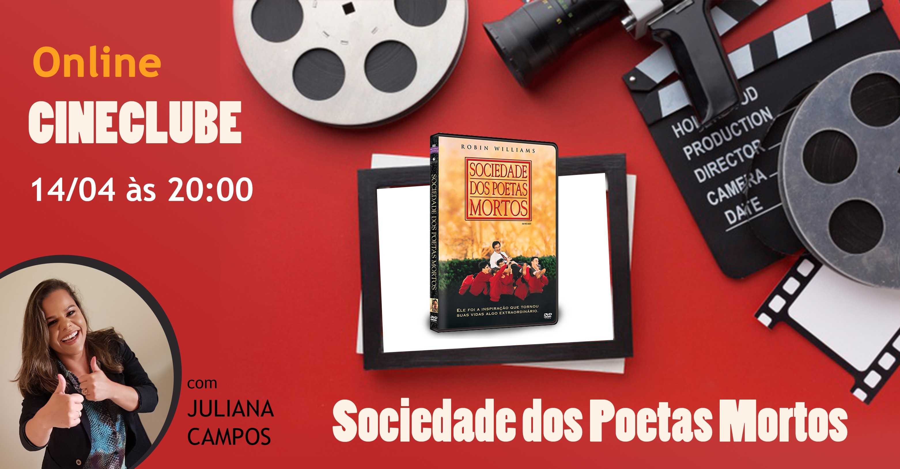 Cineclube Sociedade Dos Poetas Mortos Online Sympla