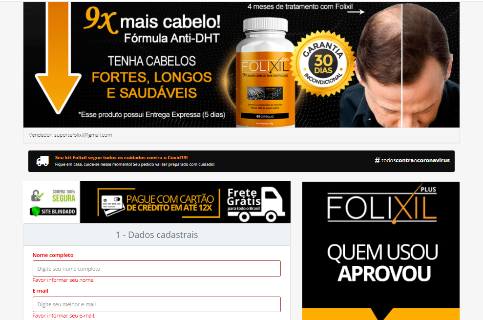 folixil para que serve