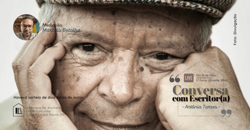 Conversa com Escritor(a), com Antônio Torres - Sympla